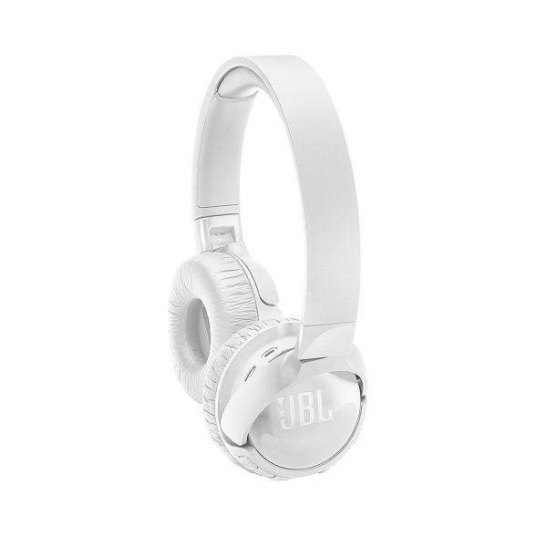 Jbl tune 600 blanco auriculares inalámbricos bluetooth con cancelación de ruido y micrófono