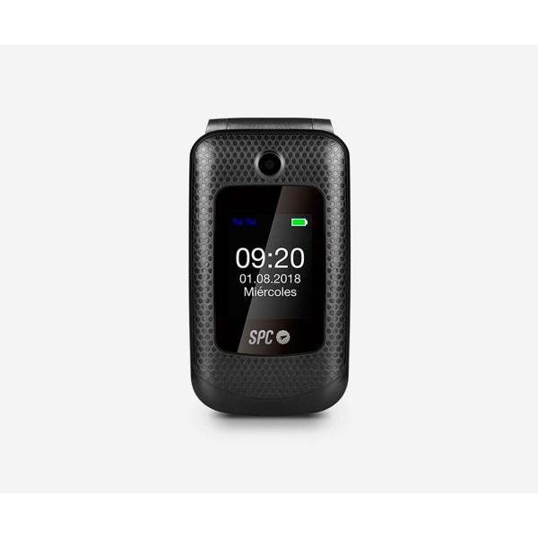 Spc 2312n goliath negro móvil con tapa / dual sim / sos