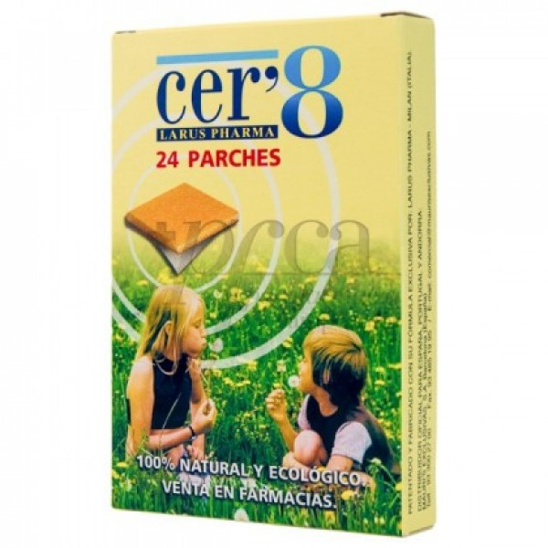 CER8 24 PARCHES ANTIMOSQUITOS