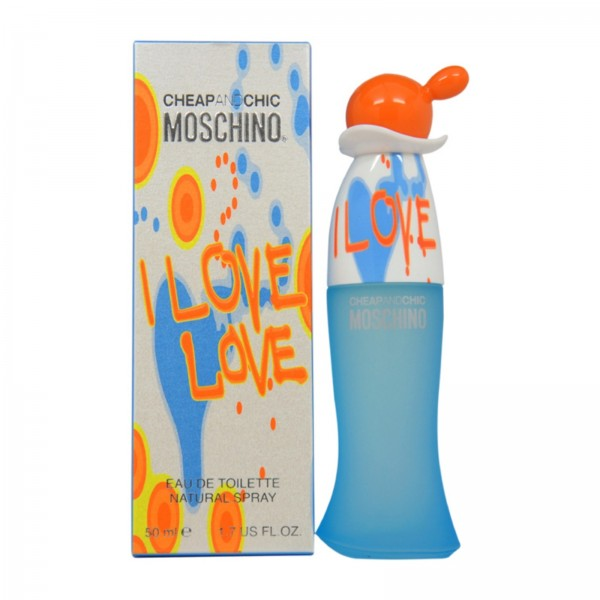 Moschino cheap chic i love love eau de toilette 50ml vaporizador