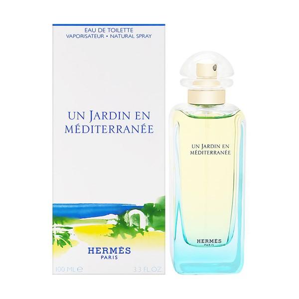 Hermes un jardin en mediterranee eau de toilette 100ml vaporizador