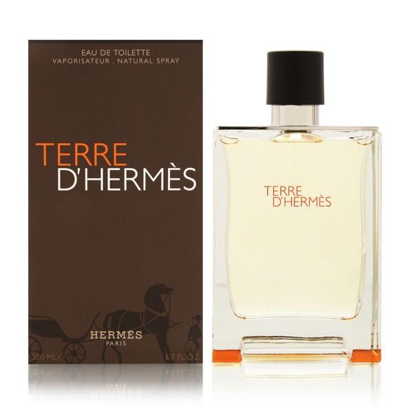 Hermes terre d'hermes pour homme eau de toilette 200ml vaporizador
