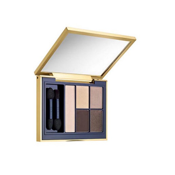 Estee lauder pure color envy sculpting sombra de ojos 5 color paleta 02 ivory power