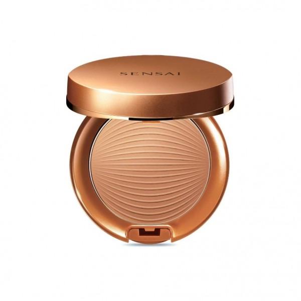 Kanebo sensai bronzing foundation sun protective sc02 8 5gr
