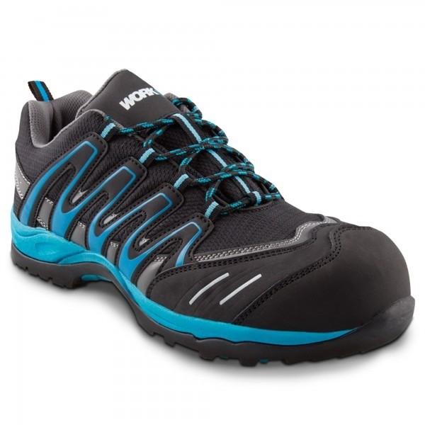 Zapato seg. workfit trail azul n.37