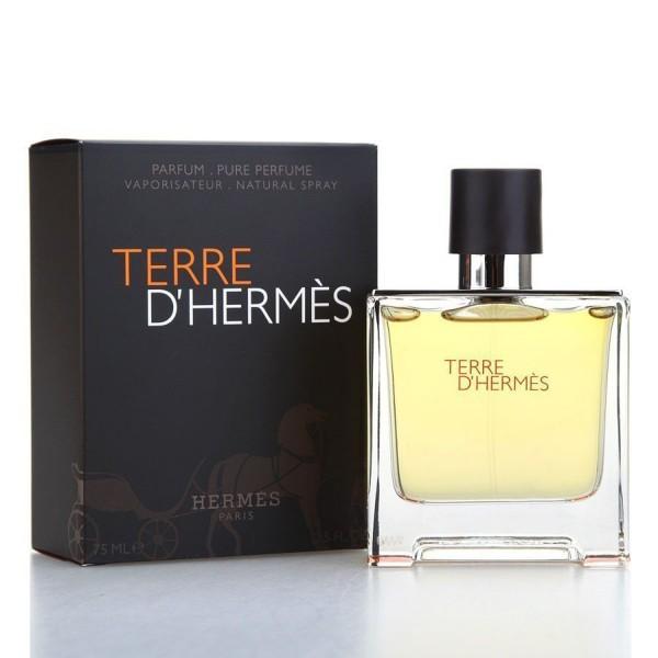 Hermes terre d'hermes pour homme eau de parfum 75ml vaporizador