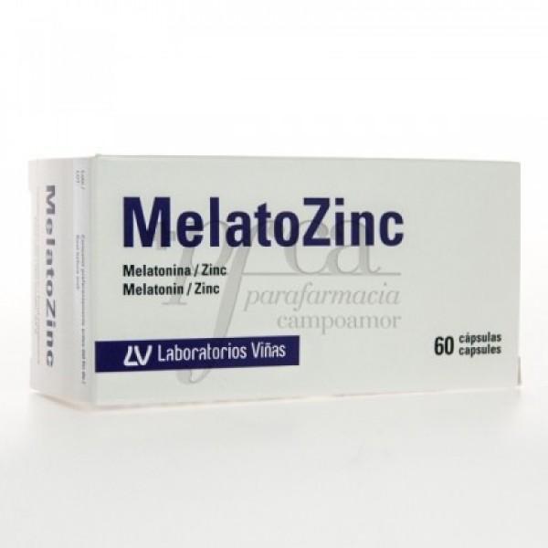 MELATOZINC 60 CAPS
