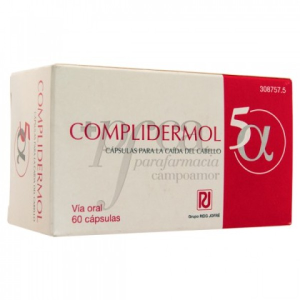 COMPLIDERMOL 5 ALFA 60 CAPS