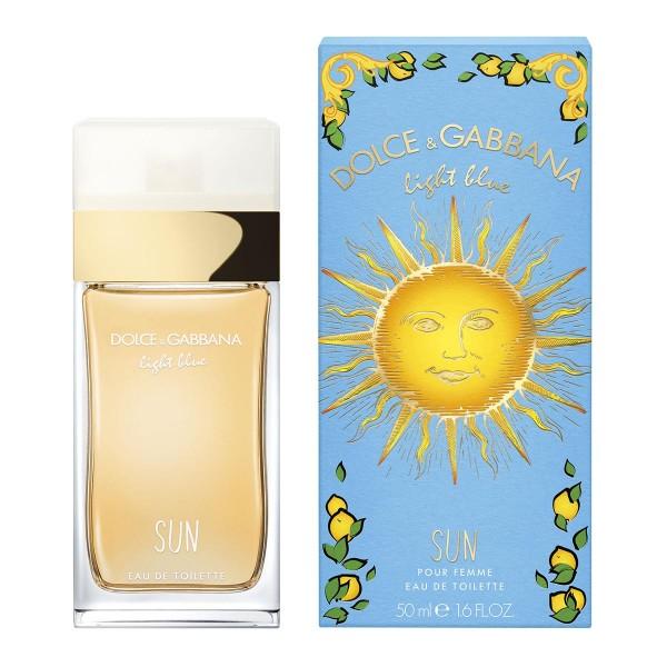 Dolce gabbana light blue sun pour femme eau de toilette 50ml vaporizador edicion limitada