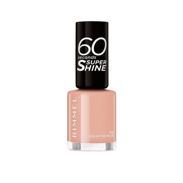 Rimmel  60 Seconds Kiss in the Nude 708