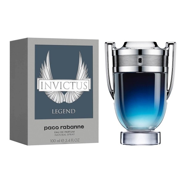 Paco rabanne invictus legend eau de parfum 100ml vaporizador