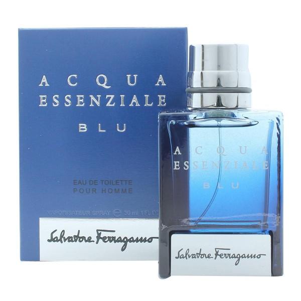 Salvatore ferragamo acqua essenziale blu eau de toilette pour homme 30ml vaporizador