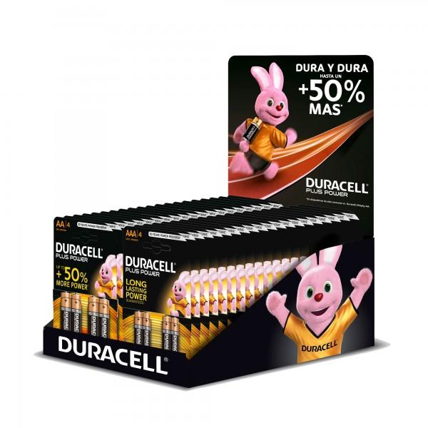 Pila duracell pluspower mix bl.4x40u.exp