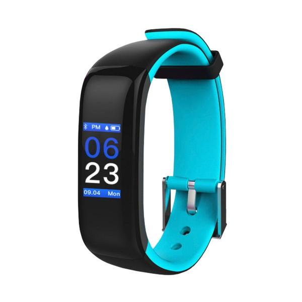 Brigmton bsport-15 azul pulsera de actividad con pantalla oled color táctil ip67 bluetooth