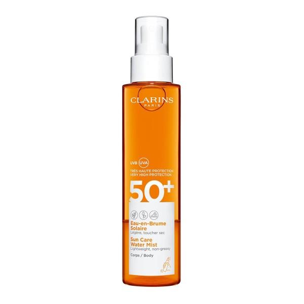Clarins spf50+ sun care water mist 150ml