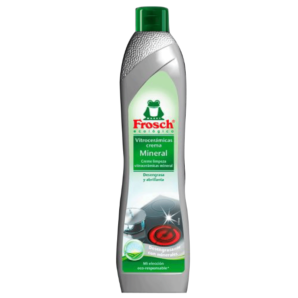 Frosch limpia vitrocerámica crema mineral 500 ml
