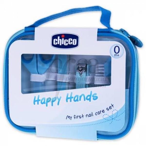 CHICCO HAPPY HANDS AZUL PROMO