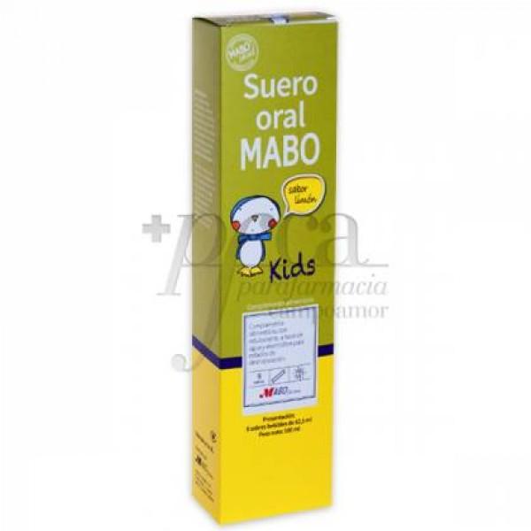 SUERO ORAL MABO 8 SOBRES SABOR LIMON