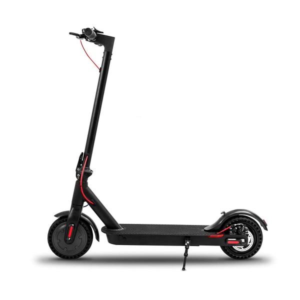 Unimade l302ua leopard negro patinete eléctrico 25km/h 20km de autonomía con diseño plegable