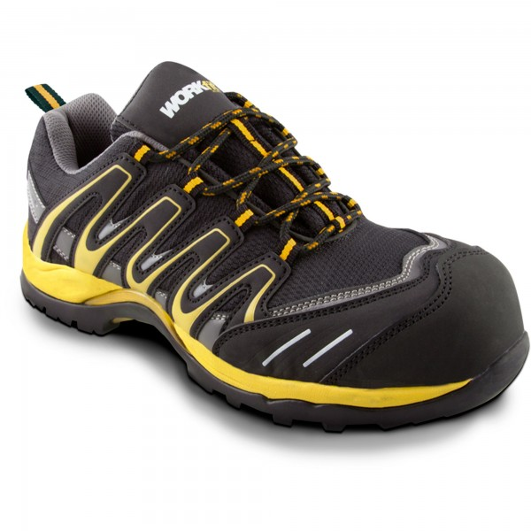 Zapato seg. workfit trail amarillo n.35
