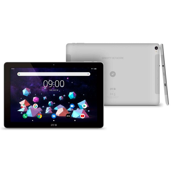 Spc gravity negro gris tablet 4g wifi 10.1'' ips hd quadcore 32gb 3gb ram cam 5mp selfies 2mp