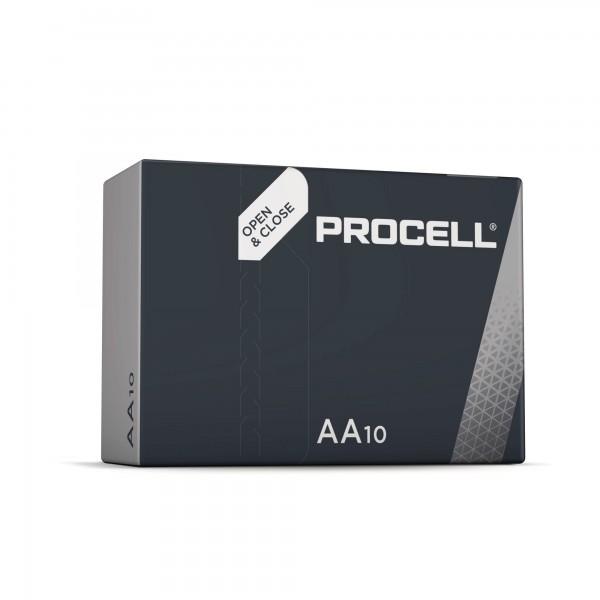 Pila duracell procell lr06-aa 10unds.