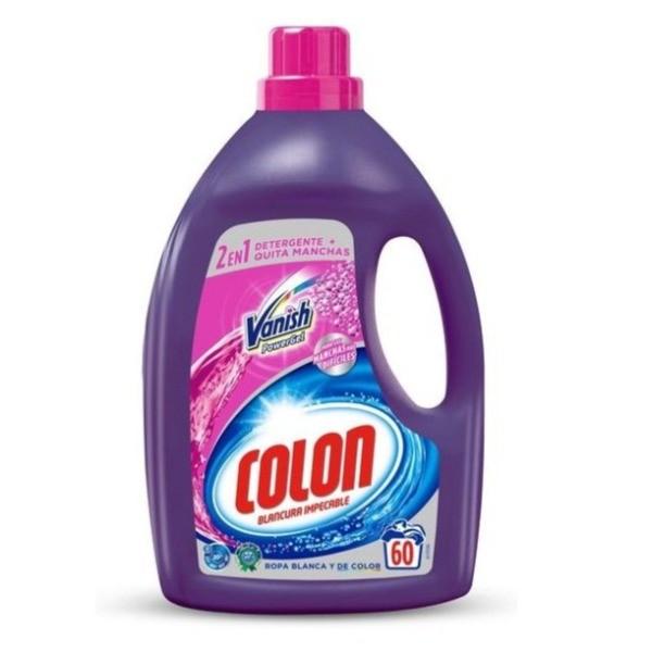 Colon detergente Vanish Manchas Difíciles 60 dosis