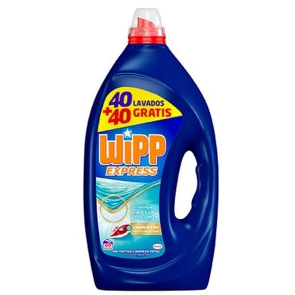 Wipp Express detergente Limpieza Profunda 40 + 40 lavados GRATIS