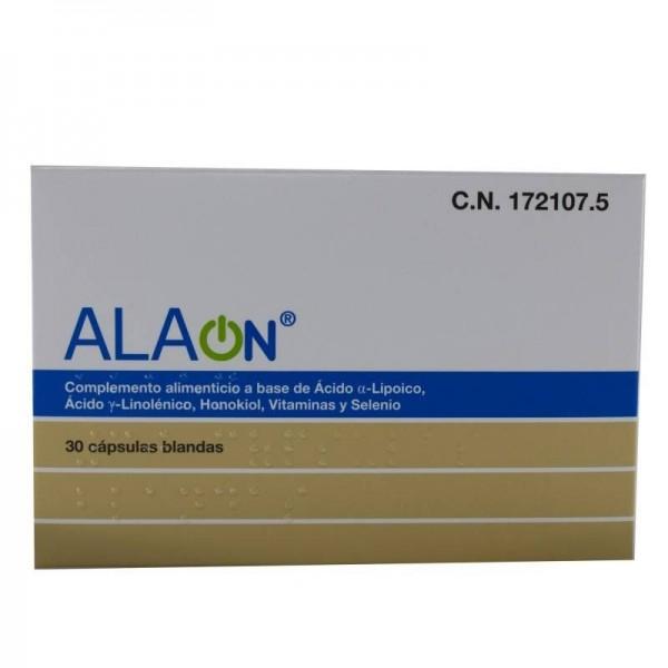 ALAON 30 CAPS BLANDAS
