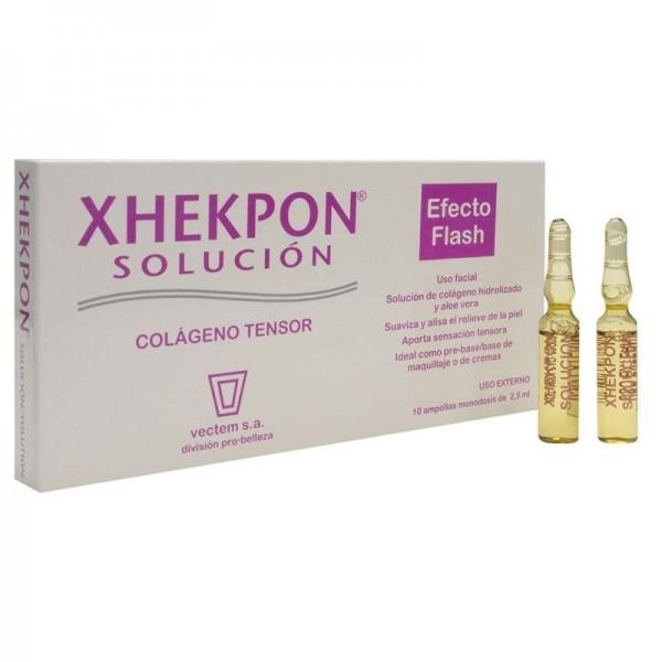 XHEKPON SOLUCION MONODOSIS 2.5 ML 10 AMP