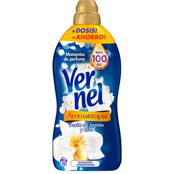 Vernel suavizante Aromaterapia Lírio Irresistible 76 dosis